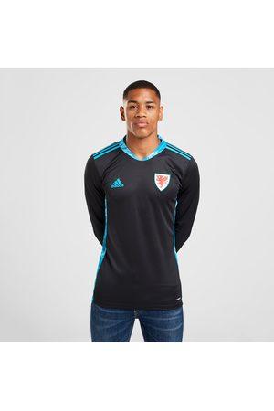 adidas Men Shirts - Wales 2020 Away Goalkeeper Shirt - - Mens