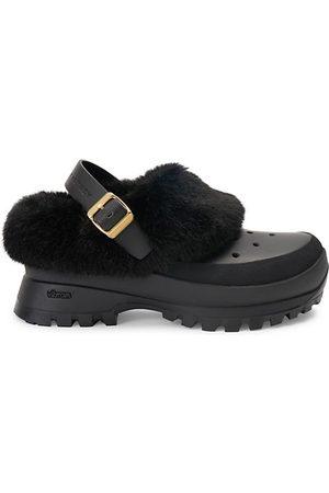 Stella McCartney Trace Faux-Fur Trimmed Shoes
