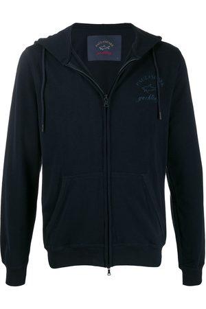 Paul & Shark Contrast logo hoodie