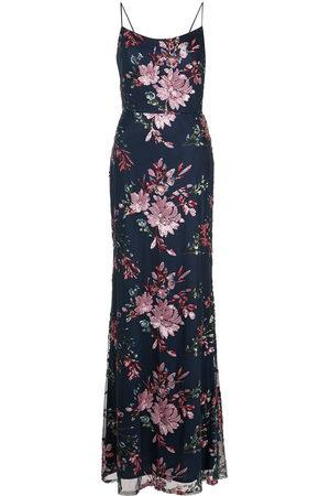 Marchesa Notte Bridesmaids Women Evening Dresses - Sequin-floral gown