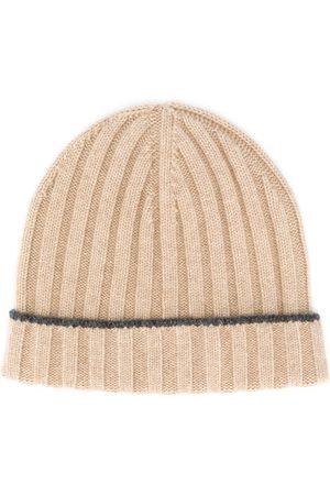 Brunello Cucinelli Men Beanies - Ribbed knit beanie