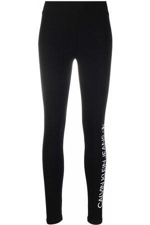 Calvin Klein Logo-print stretch leggings