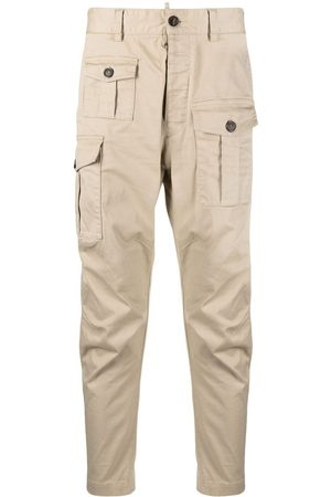 Dsquared2 Men Cargo Pants - Cropped cargo trousers
