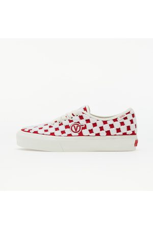 Vans Vans Authentic One Piece VLT LX (Embroidered) Racing Red/ Marshmallo