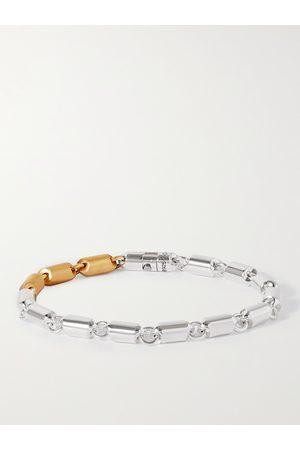 Le Gramme Men Bracelets - 27g Sterling and 18-Karat Gold Cable Bracelet