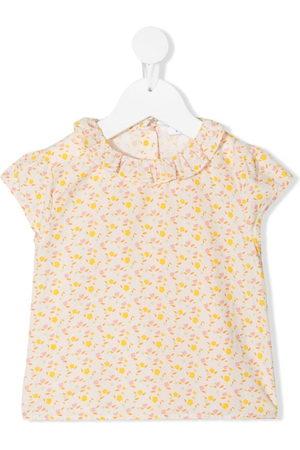 KNOT Baby Blouses - Flower Power short-sleeved blouse