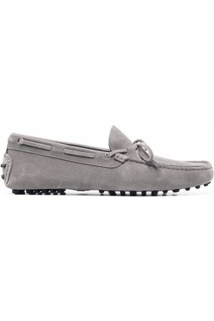 Scarosso Men Loafers - James bow-embellished loafers