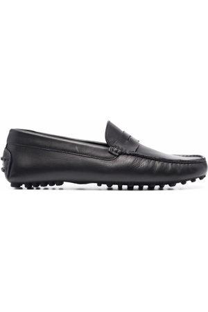 Scarosso Michael square-toe loafers