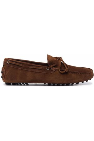Scarosso Men Loafers - James lace-up loafers