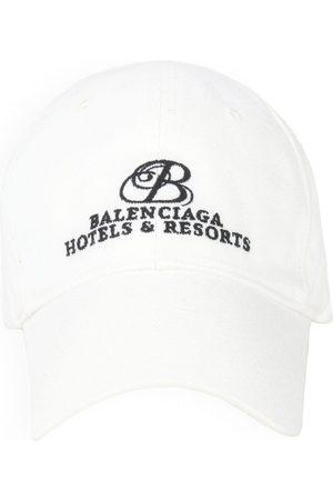 Balenciaga Caps - Resorts logo-embroidered cap