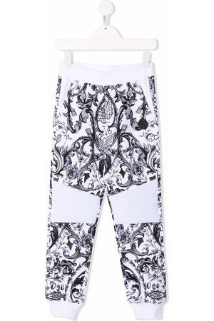 Philipp Plein Baroque-print jogger trousers