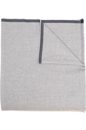 Brunello Cucinelli Men Scarves - Frayed edge wool scarf