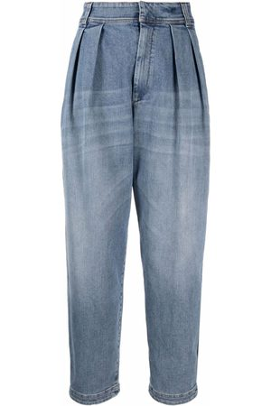 Brunello Cucinelli Women Bootcut & Flares - Tapered wide-leg jeans