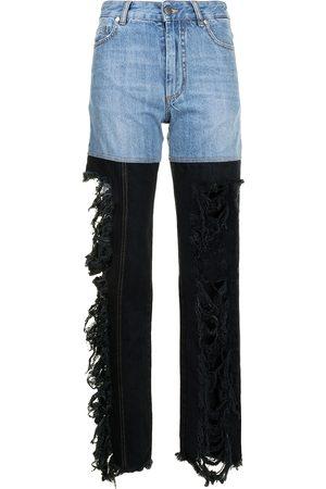 Peter Do Women Boyfriend - Combo high-rise straight jeans