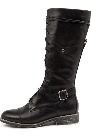Django & Juliette Women Knee High Boots - Mikan Dj Boots Womens Shoes Casual Long Boots