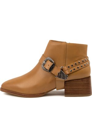 Sol Sana Women Ankle Boots - Cole Boot Ss Tan Boots Womens Shoes Casual Ankle Boots