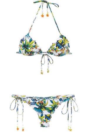 AMIR SLAMA Women Bikinis - Printed bikini