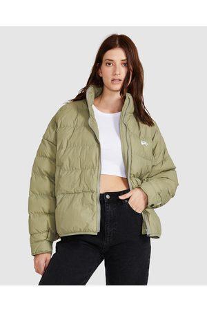 STUSSY Women Jackets - Forest Lightweight Puffa Jacket Basil