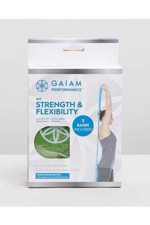 Gaiam Performance Strength and Flexibility Kit - Training Equipment (Multi) Performance Strength and Flexibility Kit