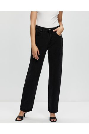Cotton On Baggy Straight Jeans - High-Waisted (Midnight ) Baggy Straight Jeans