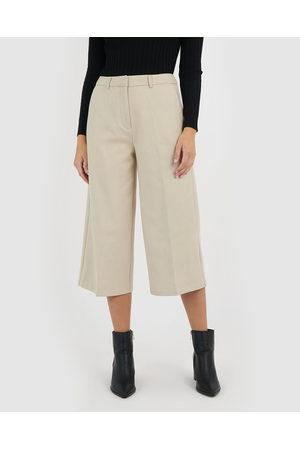 Forcast Matilda Culotte - Pants (Oyster) Matilda Culotte