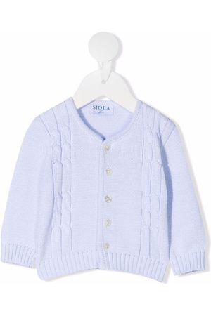 SIOLA Cardigans - Buttoned knitted cardigan