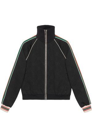 Gucci Men Outdoor Jackets - GG-jacquard jersey track jacket