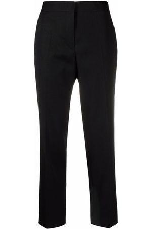 Jil Sander High-waisted press-crease trousers