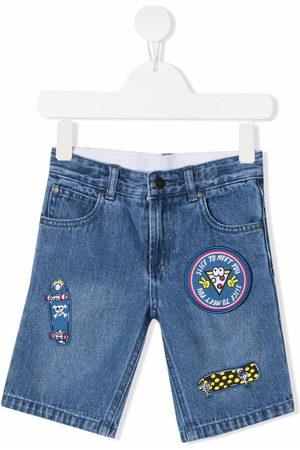 Stella McCartney Slice To Meet You denim shorts