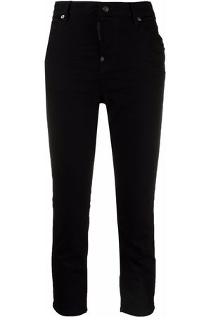 Dsquared2 High-waisted cropped jeans