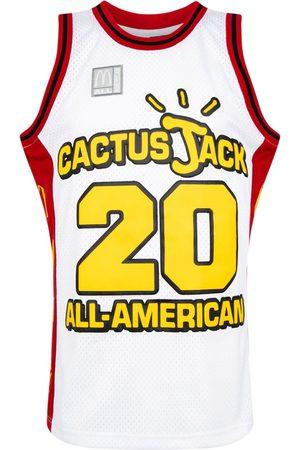 Travis Scott Astroworld Men Tank Tops - X McDonald's Cactus Jack All American tank top