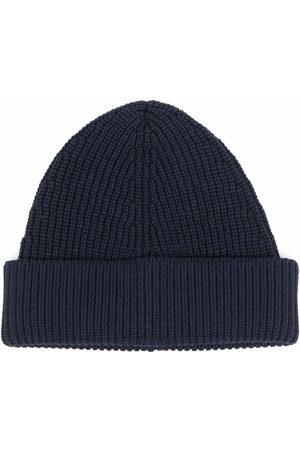 Maison Margiela Ribbed knit beanie hat