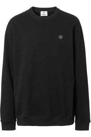 Burberry Monogram-appliqué sweatshirt
