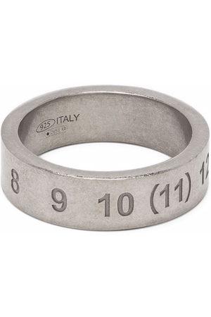 Maison Margiela Number-engraved ring