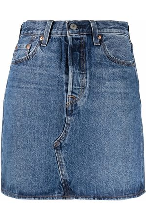 Levi's Women Denim Skirts - High-waisted denim skirt