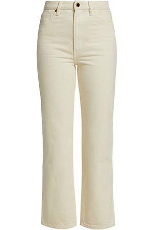 Khaite Abigail Straight Jeans