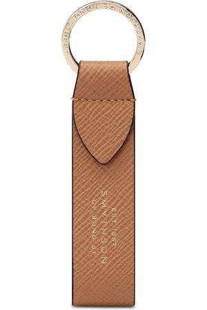 SMYTHSON Panama Leather Strap Keyring