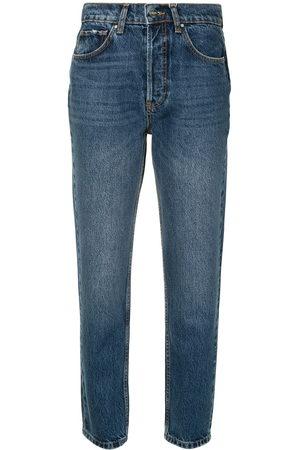 ANINE BING Women Boyfriend - Sonya high-rise straight jeans