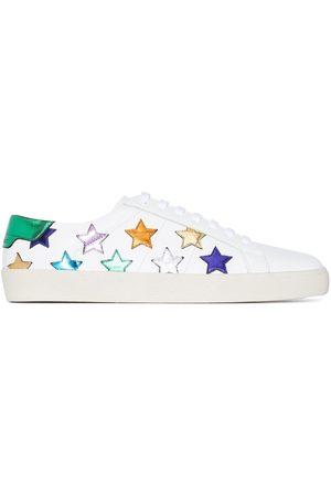 Saint Laurent Women Sneakers - SL06 Star lace-up sneakers