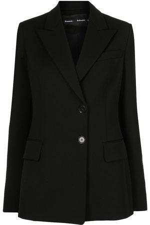 Proenza Schouler Women Blazers - Single-breasted wool blazer