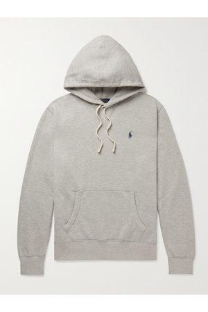 Polo Ralph Lauren Logo-Embroidered Cotton-Blend Jersey Hoodie