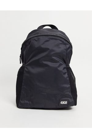 ASOS 4505 running gym bag in lightweight water resistant fabric-Black