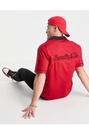 Farah Menard short-sleeved shirt-Red