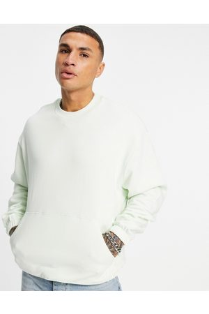 ASOS Outfit Sets - Co-ord oversized sweatshirt in green