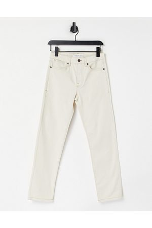 Topman Straight - Straight jeans in ecru-White