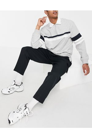 ASOS Cargo Pants - Oversized tapered cargo pants in black