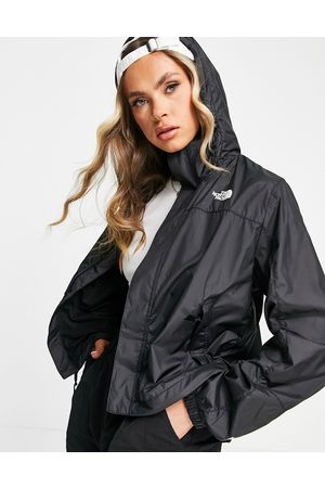 The North Face Hydrenaline wind jacket in white/black