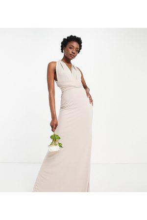 TFNC Women Maxi Dresses - Bridesmaid multiway maxi dress in pink