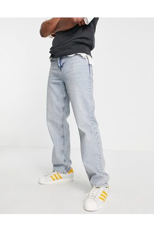 ASOS Bootcut & Flares - Relaxed jeans in light wash-Blue