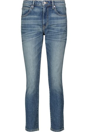 SLVRLAKE California high-rise cropped jeans